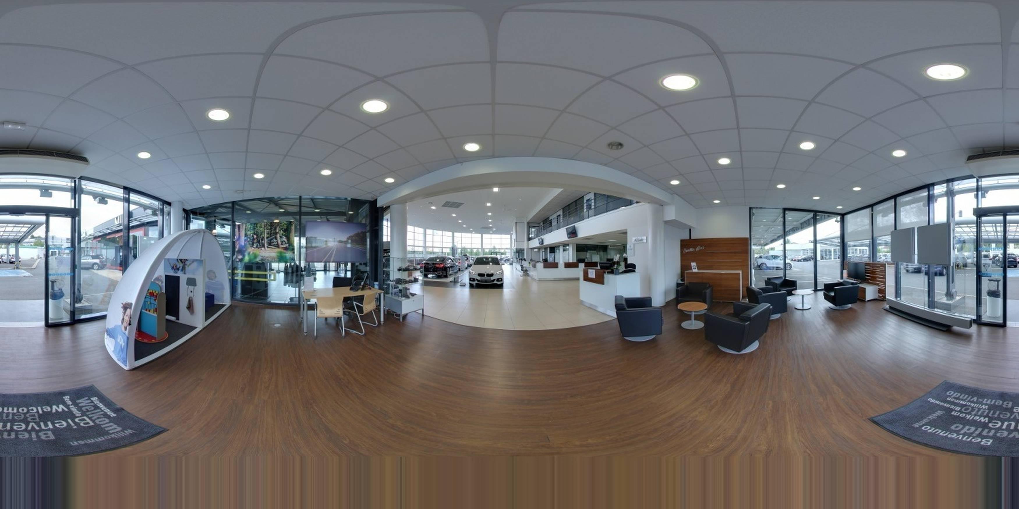 visite virtuelles google de DUPONT SA BMW